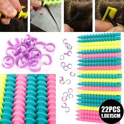 Styling Plastic Barber Hairdressing Spiral Hair Perm Rod Hair Care S M L