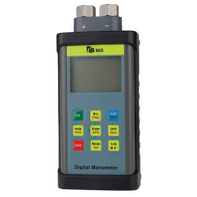 TEST PRODUCTS INTL. Digital Manometer,+/-101.5 psi,LCD, 665