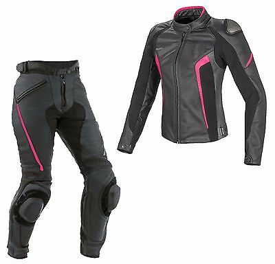 WOMEN Motorcycle Leather Suit lady Motorbike Leather Suit Motogp Suit 1pc Racing