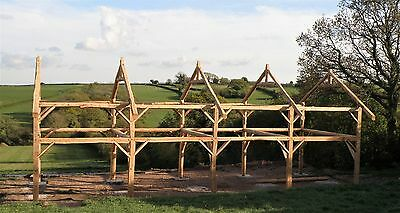 Timber framed buildings for sale. Manufactured using UK sourced European Larch
