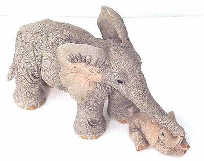 Tuskers elephant 'TENDER TOUCH' ornament complete