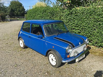 1993 Rover Mini ITALIAN JOB 1300cc 34,000 mls FINE Cond throughout in rare blue