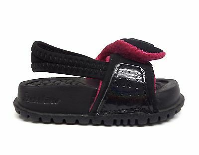 5a85e74a49cc8a Nike Toddlers  Air Jordan HYDRO 2 Sandal TD Shoes Black Vivid Pink 487574-