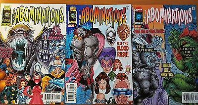 The Abominations 1996 #1-3 Hulk Complete Series Set NM