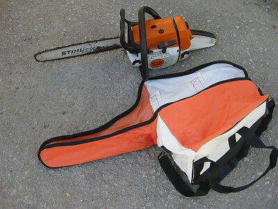 """Chainsaw Carry Storage Case Bag Suits Saws Up To 22"""" Guide Bar fits stihl"""