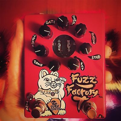 Z.Vex FUZZ FACTORY 7 - IMMACULATE condition with ALL ORIGINAL PACKAGING.