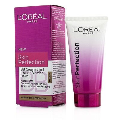 L'Oreal Loreal Paris Skin Perfection Balm BB Skin Tone Cream SPF25 50ml - Medium