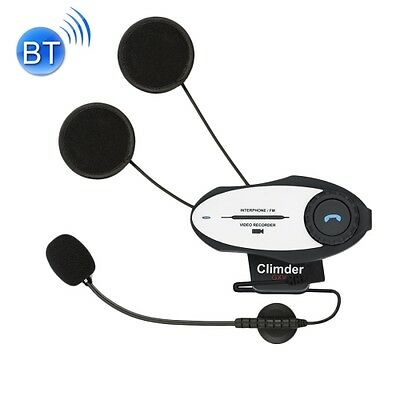 Kt5873_Sun Climder Gxv Single Bluetooth Interphone Headsets With 720P Video Reco