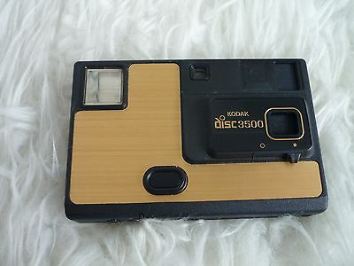 Vintage camera kodak disc 3500 gold edition Ex condition
