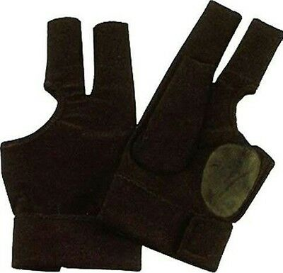 Professional quality black snooker glove