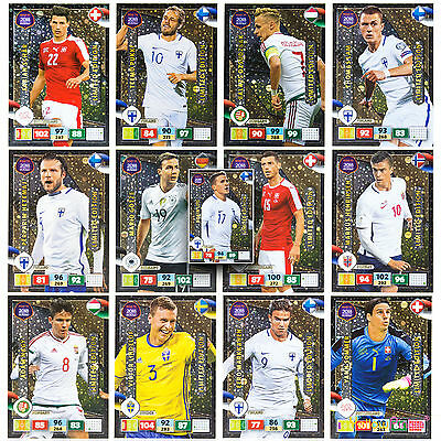 Panini ROAD TO WORLD CUP 2018 LIMITED EDITION Adrenalyn XL Football Cards