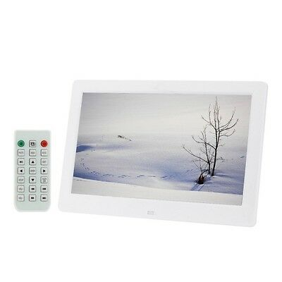 S-Pf-0560W_Sun 10.1 Inch Hd Wide Screen Digital Photo Frame With Holder & Remote