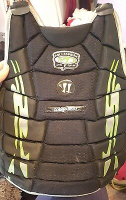 protective chest pad LAX lacrosse goalkeeper warrior millennium pro gear