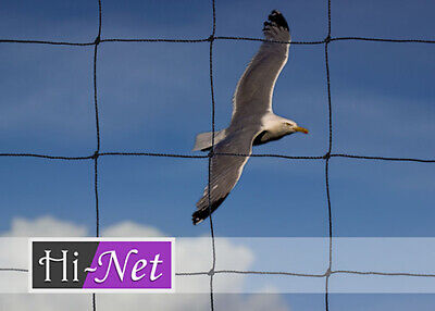 """Garden Netting Heavy Duty Strong Knotted Seagull Sports 5m x 10m 3"""" mesh"""