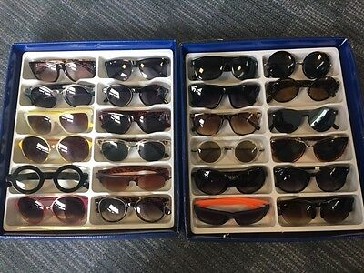 Job Lot 24 pairs of assorted sunglasses - Car Boot - Resale - Wholesale - REF149