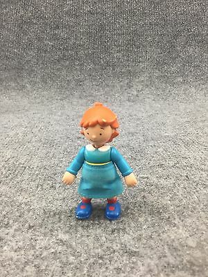 """2002  PBS Caillou Sister Rosie Posable 3"""" Figure!"""