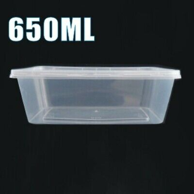 500 x No2 Catering Aluminium Foil Food Container Take Away Box + Lids