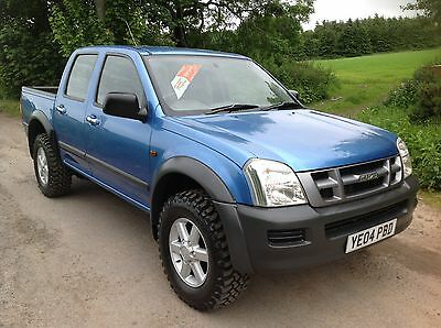 2004 ISUZU RODEO 3.0ltr DOUBLE CAB 4x4 PICK UP GENUINE 107k 1 PREVIOUS OWNER
