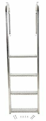 4 Step Stainless Steel Dock Ladder