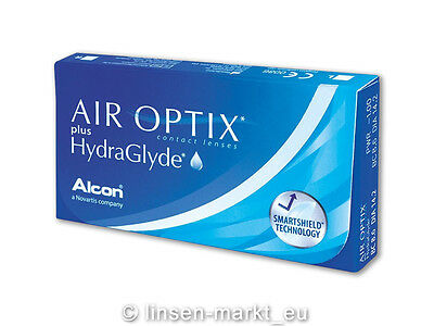Air Optix Plus HydraGlyde 1x6 Stück - Alcon Monatslinsen