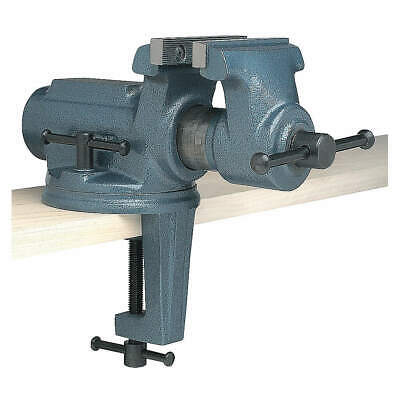 WILTON Portable Vise,Clamp-On Swivel,Std Duty, CBV-100