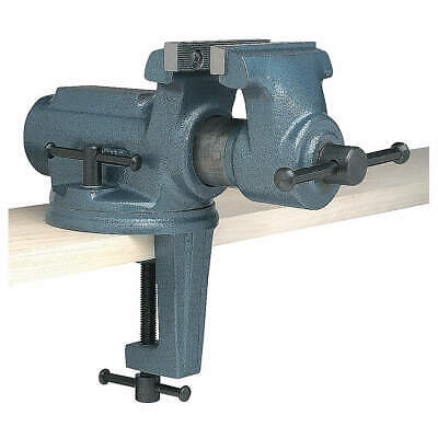 WILTON Portable Vise,Clamp-On Swivel,Std Duty, CBV-65
