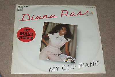 Diana Ross – My Old Piano   1980  MOTOWN...GERMAN PRESSING
