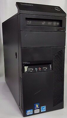 Lenovo Thinkcentre M91P - Intel i7 - 2600 (8m Cache, up to 3.8Ghz) Win 10 Pro