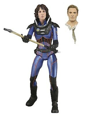 """Prometheus - 7"""" Deluxe Action Figure - Series 4 The Lost Wave - Shaw - NECA"""
