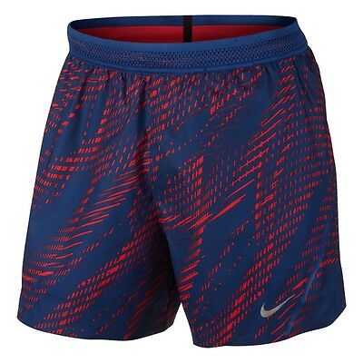 """Nike Aeroswift 5"""" Printed running shorts - adult S, M & L available"""