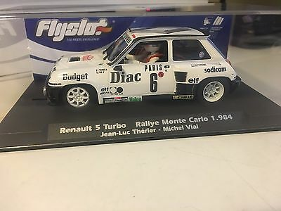 "Slot Renault 5 Turbo ""rally Montecarlo 1984 ""  Fly Slot"