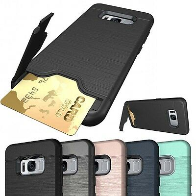 Case For Samsung Galaxy S7 S8 S9 Plus Hybrid Rugged Hard Back Cover A8 Plus 2018