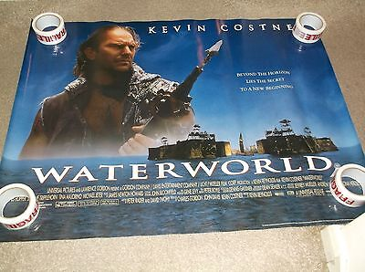 Waterworld  30 X 40 Inch Double Sided Quad Film Poster
