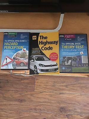 Hgv Theory Test, Hazard Perception And Highway Code.