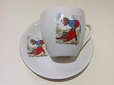 Vintage 1930s Cartwright and Edwards C&G Childs Nursery Tea Cup and Saucer
