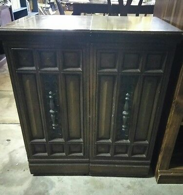 wood sewing cabinet