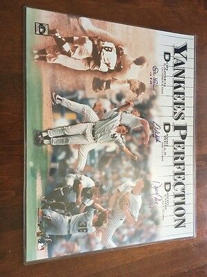 Yankees Perfection Signed 16x20 Poster