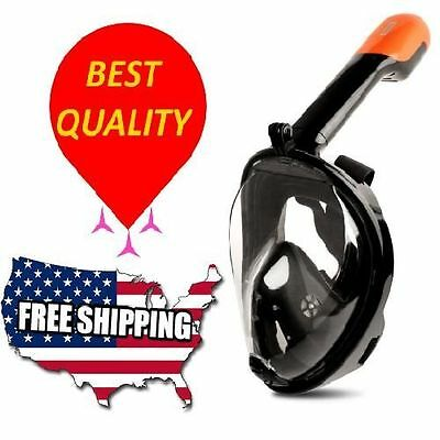 Tribord Easybreath Snorkeling Mask Diving Full Face180 for Men Women Youth Teens