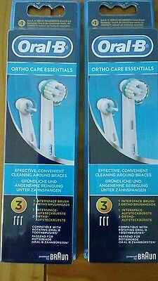 Braun Oral-B Ortho Care Essentials Pour Appareil Orthodontiques 6 Brossettes