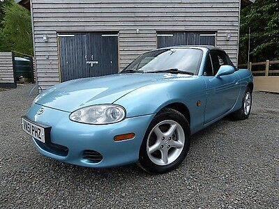 Original Mazda MX5 1.8I, with low mileage