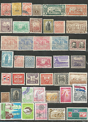 Paraguay from 1905  nice Collections old used/mint  stamps