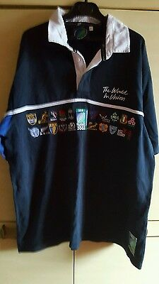 Reebok Large Twenty Union Collectors Edition 2003 Rugby World Cup Rugby Shirt