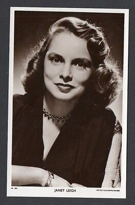 Janet Leigh Picturegoer W Series Film Star Actress Postcard No W 892