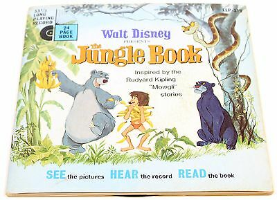 The Jungle Book - Disneyland Record and Book - 1967 - #319 Vintage