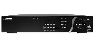 SPECO TECHNOLOGIES Network Video Recorder, 16 Ch, 3 TB, N16NS3TB