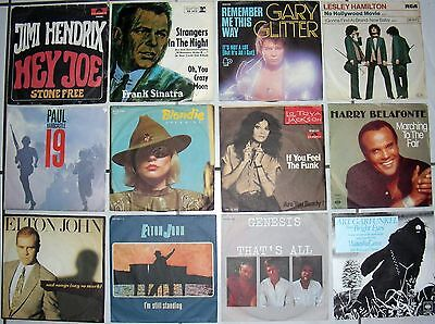 "36 Singles  7""  Internationale Hits !"