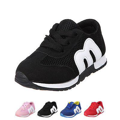 New Kids Child Breathable Fashion Sneakers Boys Girls Running Casual Sport Shoes
