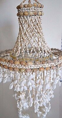 Capiz Spiral Natural Conch Shells Wind Chime New