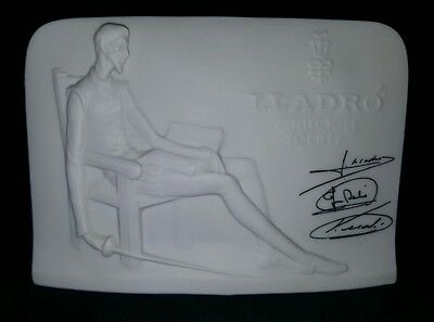 1985 Lladro Collectors Society Signed Plaque