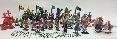 New 120 Pcs Soldier Set Dragon Figurines Knight Kids Fantasy Toys Medieval Times